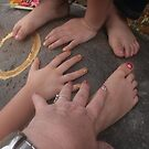 Bali manicure by Cathie Brooker