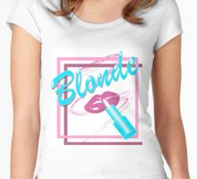 BLONDE Women's Fitted Scoop T-Shirt