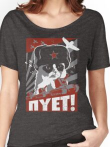 "Grumpy Cat ""NYET"" Women's Relaxed Fit T-Shirt"