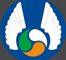Patch of the Irish Air Corps - An tAerchór by wordwidesymbols