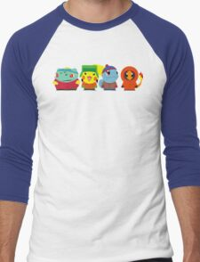 Pokemon of South Park Men's Baseball ¾ T-Shirt