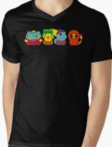 Pokemon of South Park Mens V-Neck T-Shirt