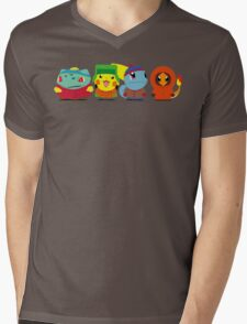 Pokemon of South Park Mens V-Neck T-Shirt