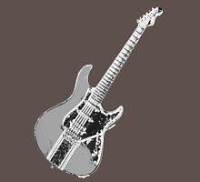 Chromed Electric Guitar Unisex T-Shirt