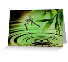 A Drop of Time Greeting Card