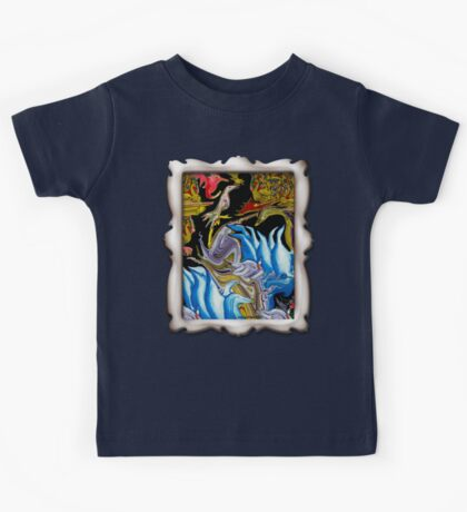 Penguins and Peacocks and Swans Oh My!-Tee Kids Tee