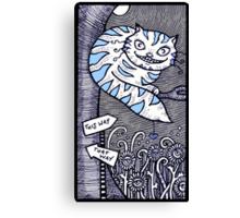 Cheshire Grin Canvas Print