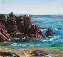 Laguna Beach Rocks by E.E. Jacks