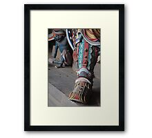 Stomp Framed Print