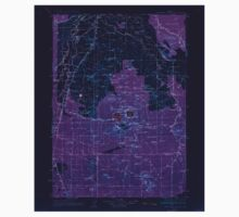 USGS Topo Map Oregon Newberry Crater 283233 1935 125000 Inverted Kids Tee