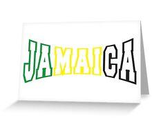 Jamaica Greeting Card
