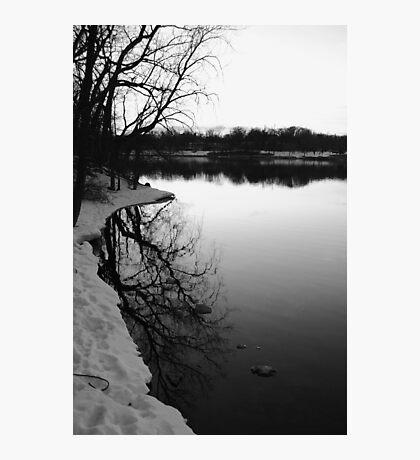 Winter on the Fox Photographic Print