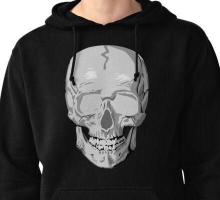 Skull Pullover Hoodie