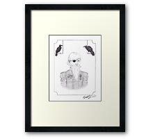 Odin Framed Print