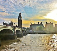 Westminster Bridge #3 by Matthew Floyd