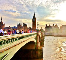 Westminster Bridge #4 by Matthew Floyd