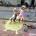 Copenhagen-home-to-worlds-largest-chalk-drawing #4 by HeklaHekla