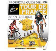 Tour de France Guide 2011 Poster