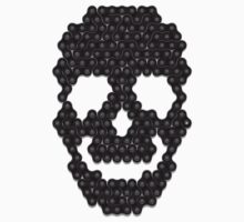 Bike Chain Skull by pufahl