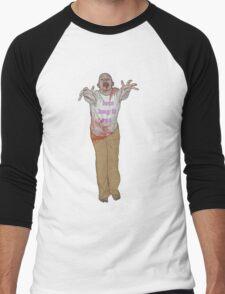 hug it out zombie Men's Baseball ¾ T-Shirt
