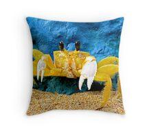 Mantou Crab, San Juan, Puerto Rico Throw Pillow