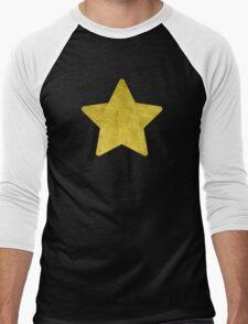 Distressed Rock Universe Men's Baseball ¾ T-Shirt