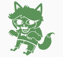 Who Do You Love: Werewolf Sticker by Kate Sherron