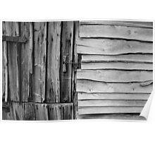 Weathered Fishing Hut Poster