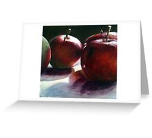 Early Summer Apples Greeting Card