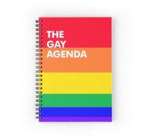The Gay Agenda Spiral Notebook