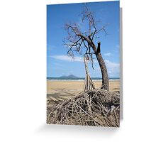 Dunk Island from North Mission Beach Greeting Card