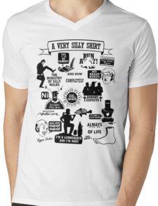 Monty Python Quotes Mens V-Neck T-Shirt
