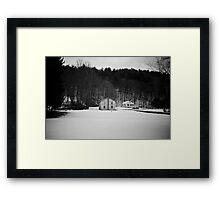Hortonville House Framed Print