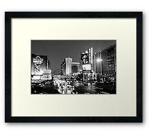 Las Vegas Boulevard Framed Print