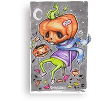 Pedro the Pessimistic Punkin Canvas Print