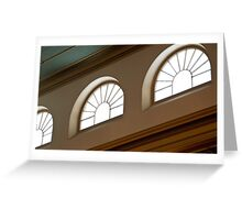 0162 The Upper Windows Greeting Card