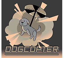 Dogcopter Photographic Print