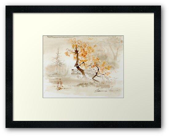 Autumn park by Natalya   Tabatchikova