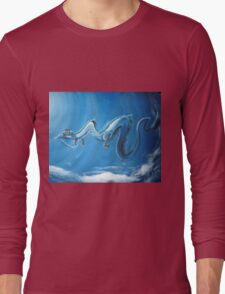 Haku & Chihiro (Spirited Away) Long Sleeve T-Shirt