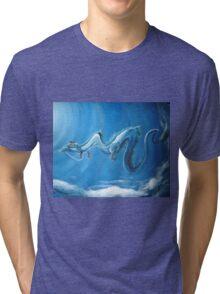 Haku & Chihiro (Spirited Away) Tri-blend T-Shirt