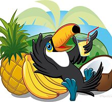 Tropical Toucan by registrento