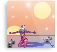 Interplanetary Plains Metal Print