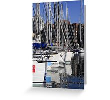 Sailing Yachts Greeting Card