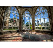 Solitary Conservatory Photographic Print