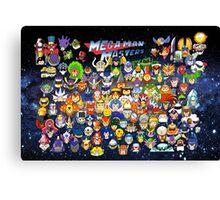 Mega Man Masters Canvas Print