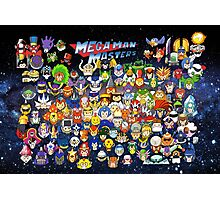 Mega Man Masters Photographic Print