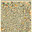 MUNICH MAP by JazzberryBlue