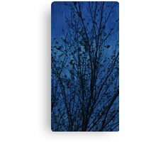 Fairy Tree in Blue Canvas Print
