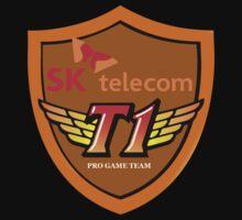 SK Telecom T1 Shield Logo by Matae187