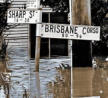 Brisbane Floods 2011 - Inundation - Brisbane Corso by Neil Ross